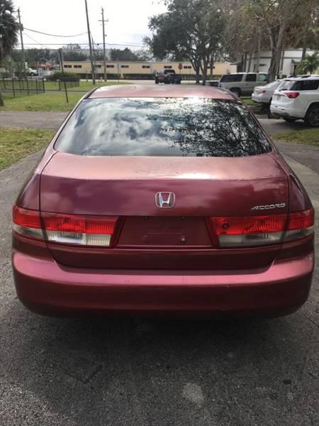 2003 Honda Accord EX V-6