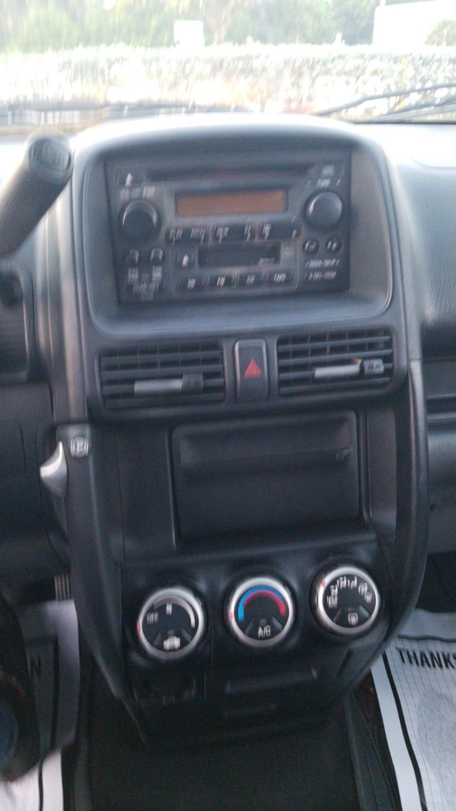 2002 HONDA CR-V LX SPORT UTILITY